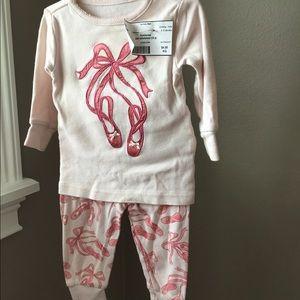 Little girls pajama set